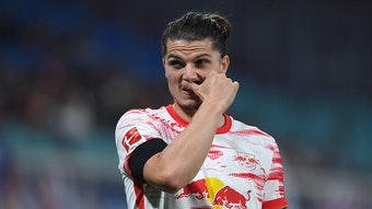 Marcel Sabitzer will zu den Bayern, aber die haben bei RB Leipzig noch nicht nachgefragt.