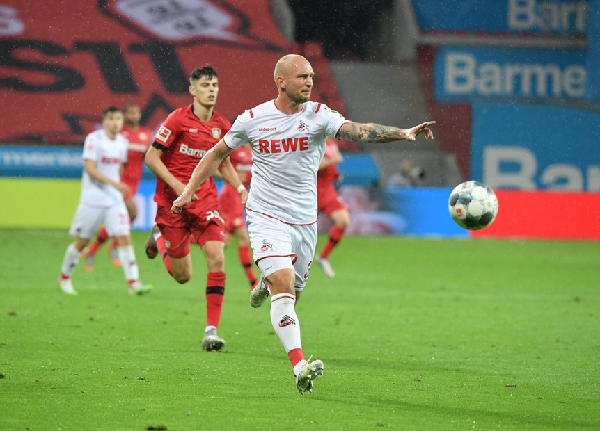 Toni Leistner in Aktion beim 1. FC Köln.