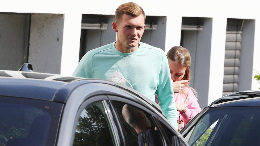FC-Neuzugang Luca Kilian kommt am Geißbockheim an.