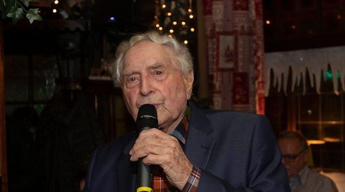 Ludwig Sebus bei enem Kölntalk im März 2018.