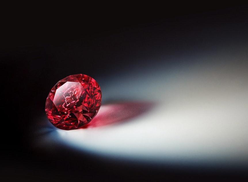 Ein roter Diamant