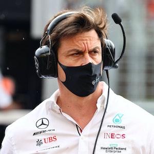 Mercedes-Teamchef Toto Wolff beim GP von Ungarn.