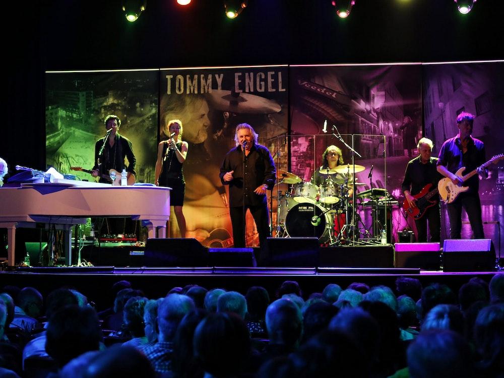 Tommy Engel bei einem Konzert in der Volksbühne am Rudolfplatz.