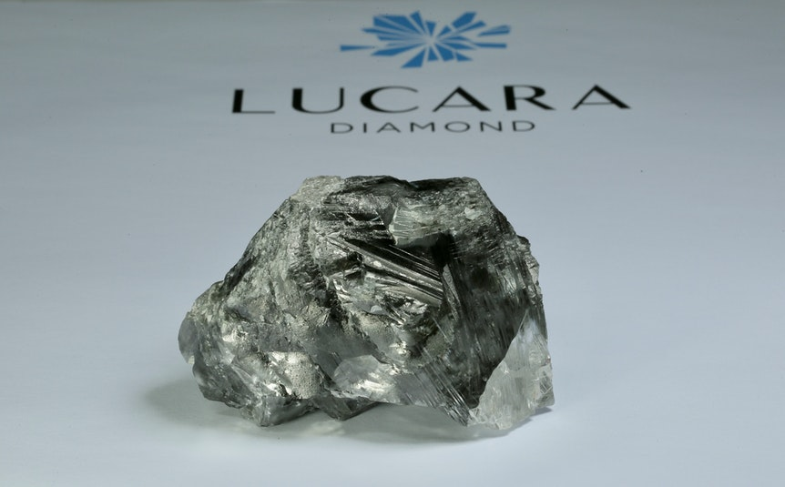Ein Riesendiamant mit 1174,76 Karat liegt beim Minenbetreiber Lucara Diamond Corp.