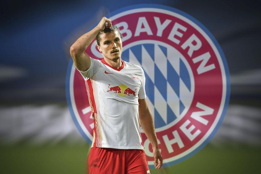 Bayern München hat die Verpflichtung von Leipzigs Marcel Sabitzer nach wie vor nicht abgeschrieben.