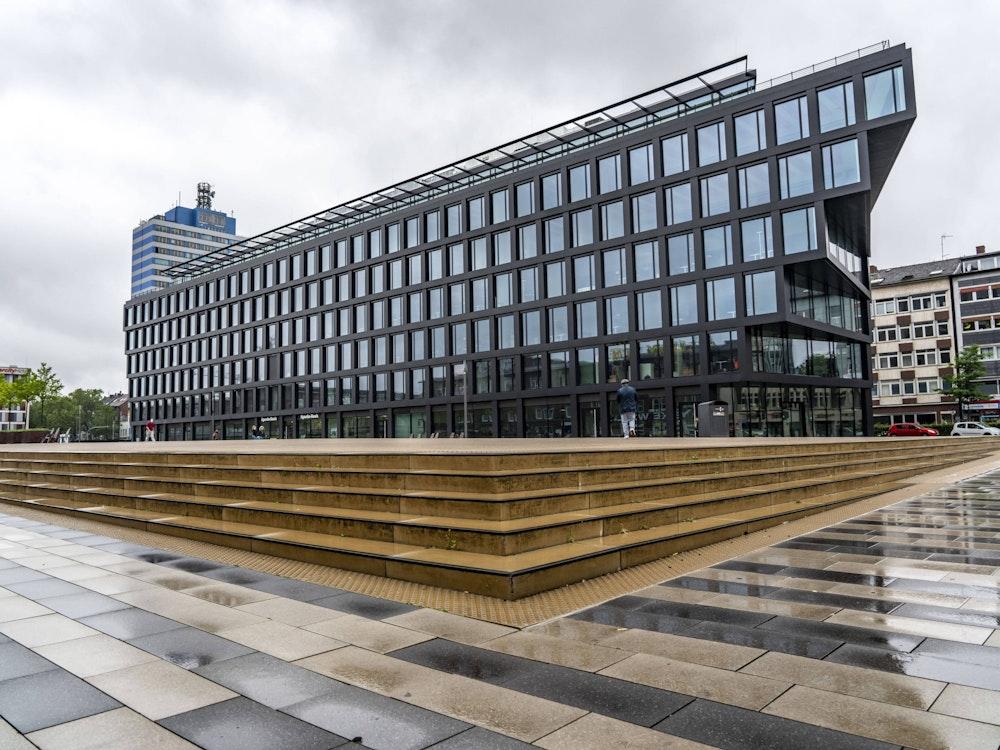Der Portsmouthplatz in Duisburg.