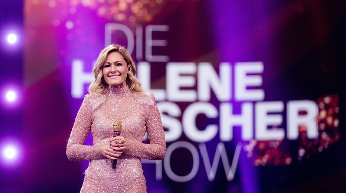 """Für viele gehörte die """"Helene Fischer Show"""" traditionell zum Weihnachtsprogramm dazu, so wie hier 2019. Doch schon wie im vergangenen Jahr muss auch 2021 die Show coronabedingt ausfallen."""