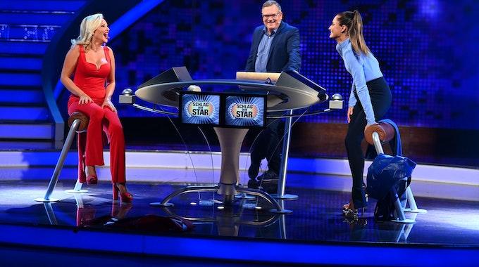 """Evelyn Burdecki (links) und Sophia Thomalla traten am Samstagabend (28. August) bei """"Schlag den Star"""" auf ProSieben gegeneinander an. Am Ende holte sich Thomalla den Sieg."""