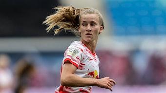 Marlene Müller sorgt mit ihrem Treffer gegen die TSG Hoffenheim für die Entscheidung