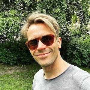 TV-Arzt Dr. Johannes Wimmer, Selfie vom 4. Juli 2021