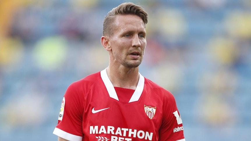 Luuk de Jong im Trikot des FC Sevilla.