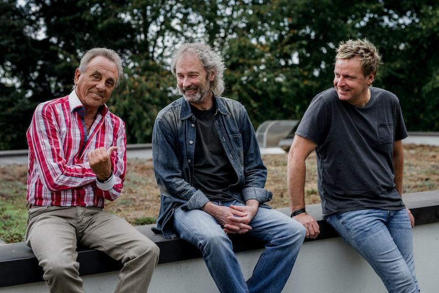 Erry Stoklosa, Wolfgang Petry und Mirko Bäumer.