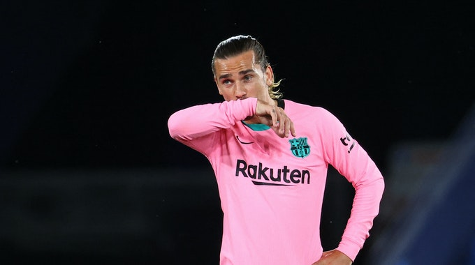 Antoine Griezmann im Trikot des FC Barcelona.