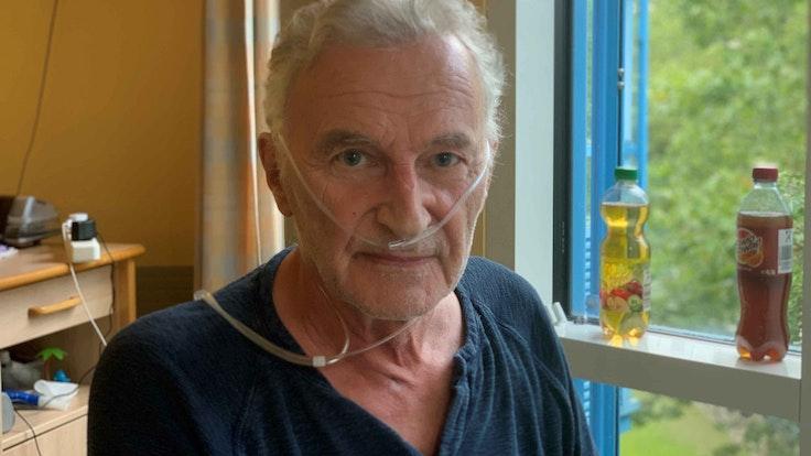 Reiner Hömig am 30. August 2021 im Reha-Zentrum in Köln