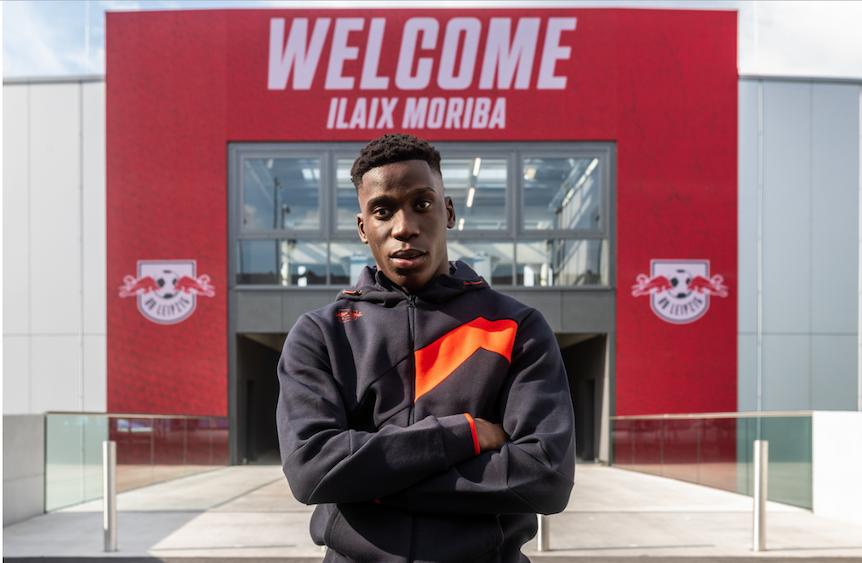 Ilaix Moriba spielt für RB Leipzig