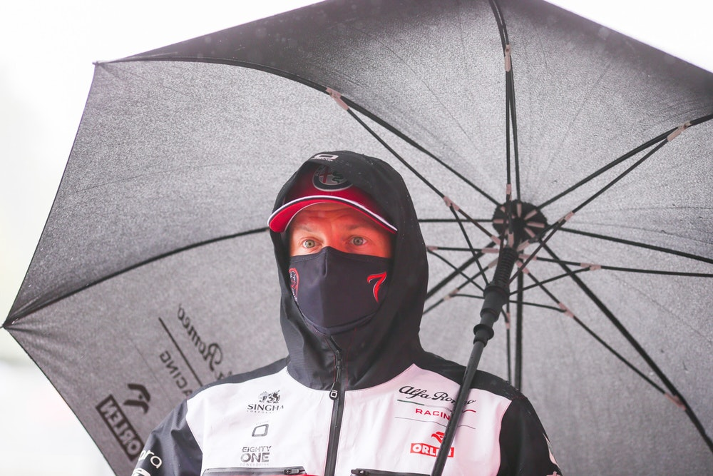 Kimi Räikkönen (Alfa Romeo) beim Formel-1-Grand Prix von Belgien in Spa-Francorchamps.