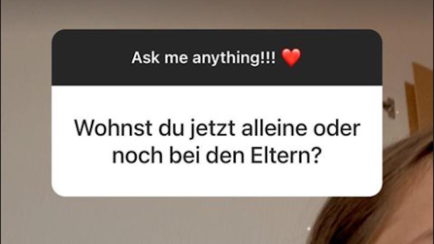 Geheimnisvolle Andeutungen von Davina Geiss. In ihrer Instagram Story beantwortet sie Fan-Fragen.