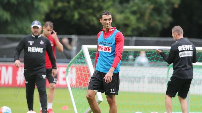 Ellyes Skhiri (1. FC Köln) beim Training.