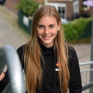 Hannah Meul im Porträt.