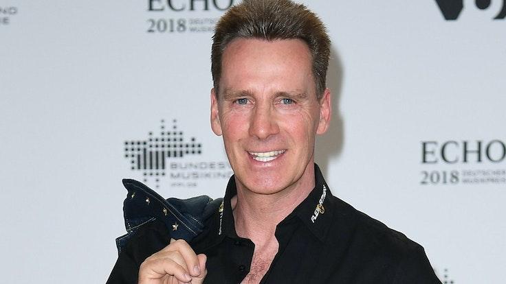 Jürgen Milski kommt zu der 27. Verleihung des Deutschen Musikpreises Echo.