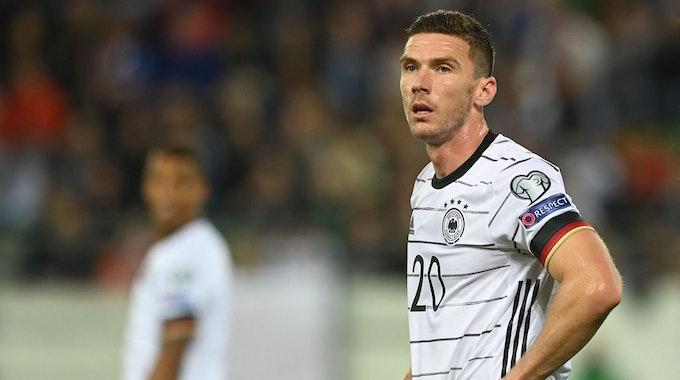Robin Gosens während des WM-Qualifikationsspiels gegen Liechtenstein