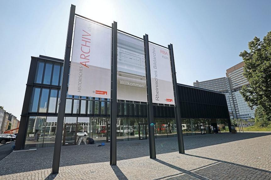 Außenansicht des Historischen Archivs in Köln.