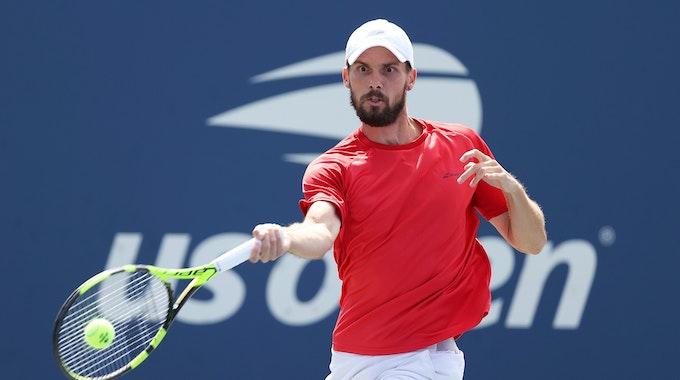 Oscar Otte gewann bei den US Open gegen Andreas Seppi.