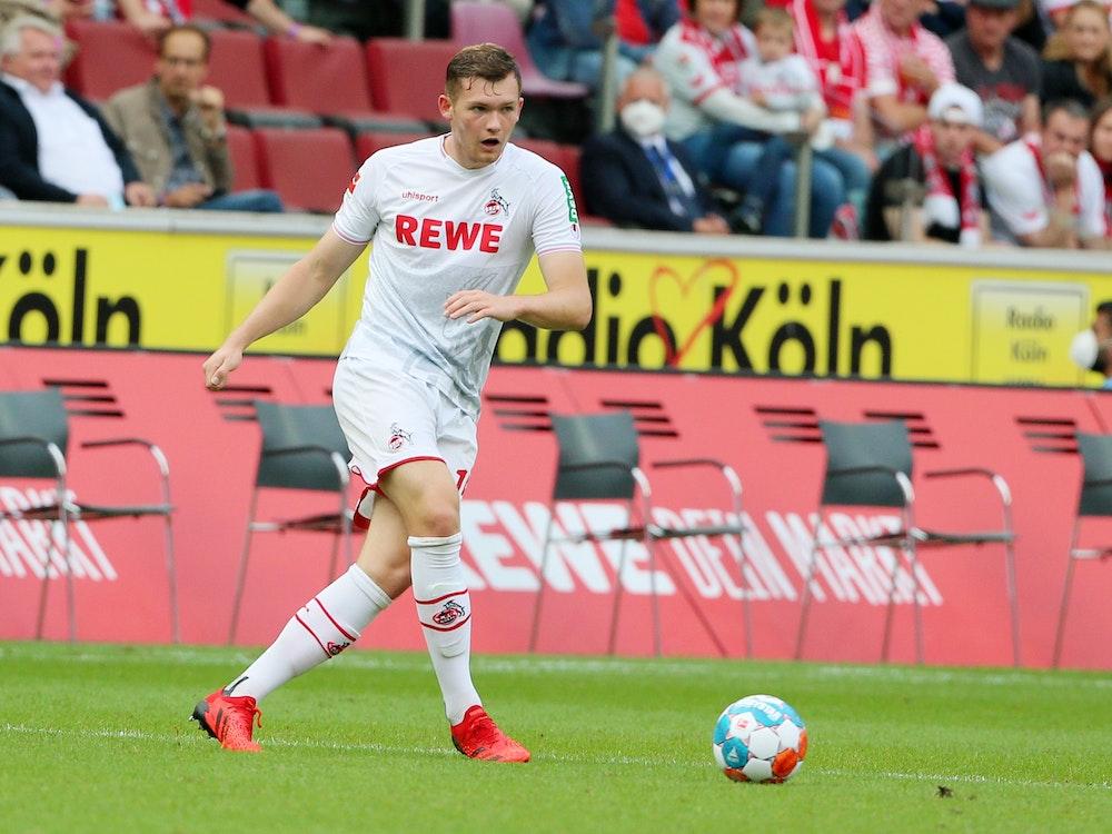 Luca Kilian in seinem ersten Spiel für den 1. FC Köln