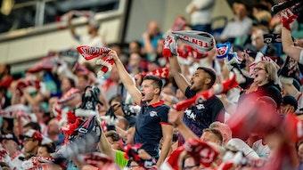 Wie viele Fans von RB Leipzig dürfen gegen Bayern München ins Stadion?