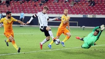 Nächster Treffer im DFB-Dress: Timo Werner.