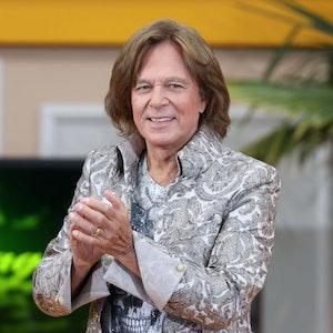 """Sänger Jürgen Drews während der ARD-Unterhaltungsshow"""" Immer wieder Sonntags"""" am 22.August 2021 im Europapark Rust."""