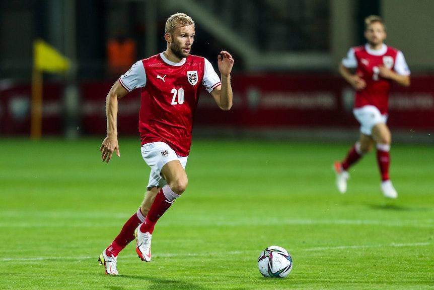 Läuft dem WM-Ticket hinterher: RB-Ösi Konrad Laimer