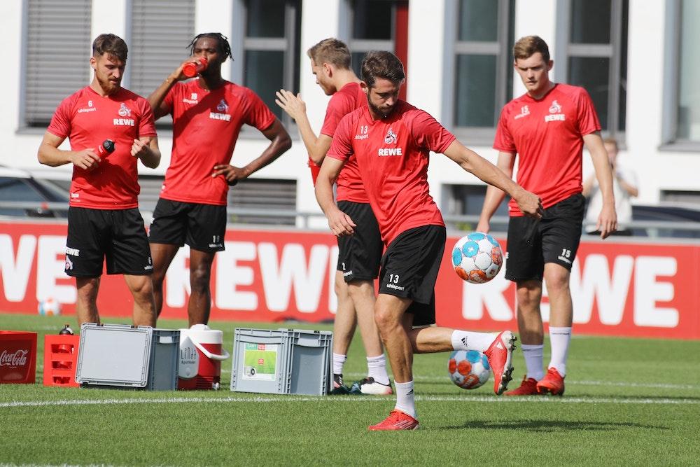 Training des 1. FC Köln mit Mark Uth.