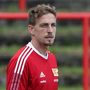 Bastian Oczipka beim Training von Union Berlin.