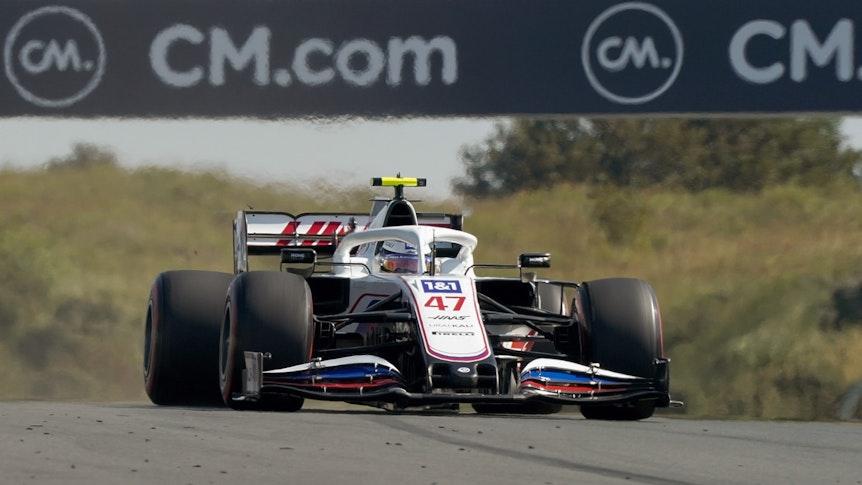 Mick Schumacher aus Deutschland vom Team Haas in Aktion.