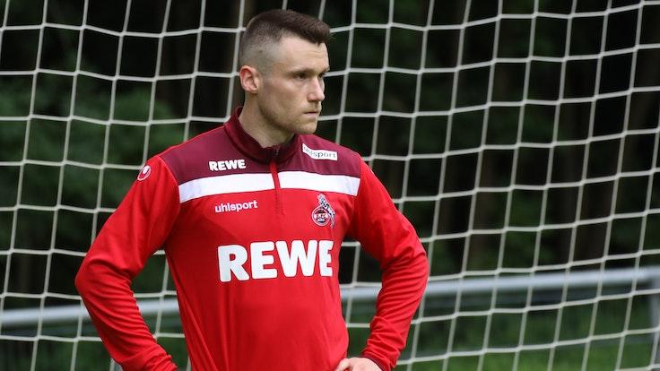 Christian Clemens im Training der U21 des 1. FC Köln