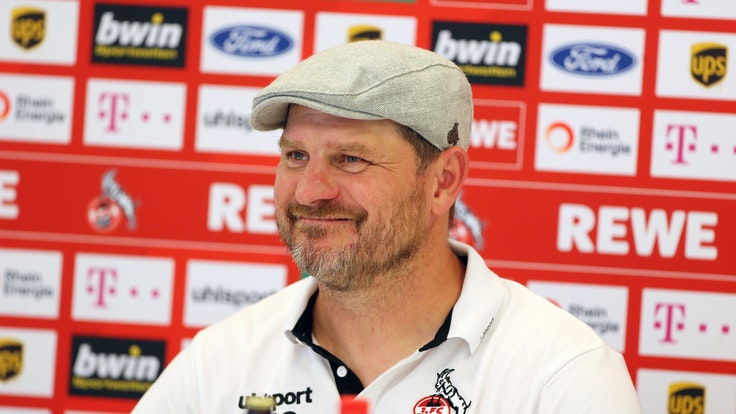Pressekonferenz des 1. FC Köln mit Steffen Baumgart