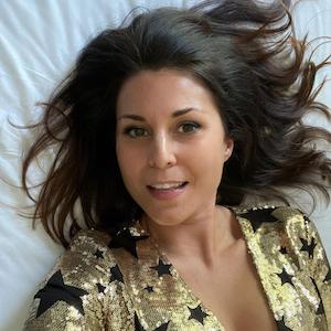 Vanessa Blumhagen, hier auf einem Instagram-Selfie vom Mai 2021, steht ihren Fans auf ihrem Instagram-Profil Rede und Antwort.