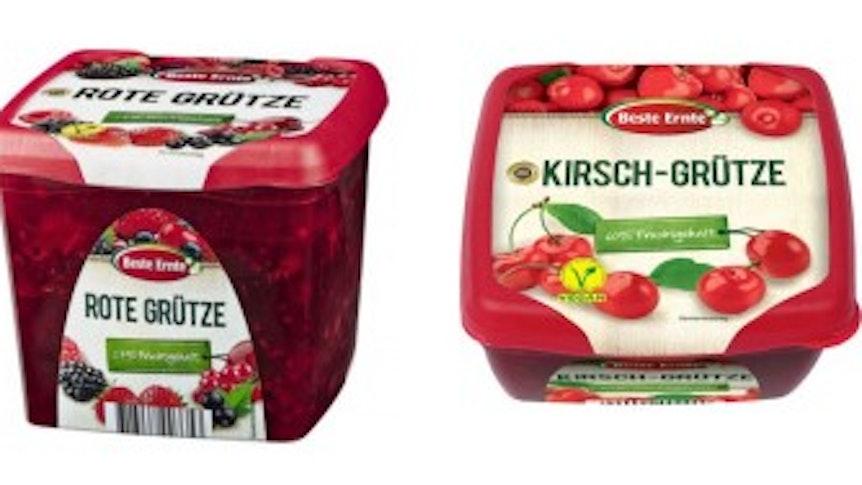 """""""Gut und günstig"""": Diese Produkte sind unter anderem vom Rückruf betroffen – es geht um rote Grütze."""