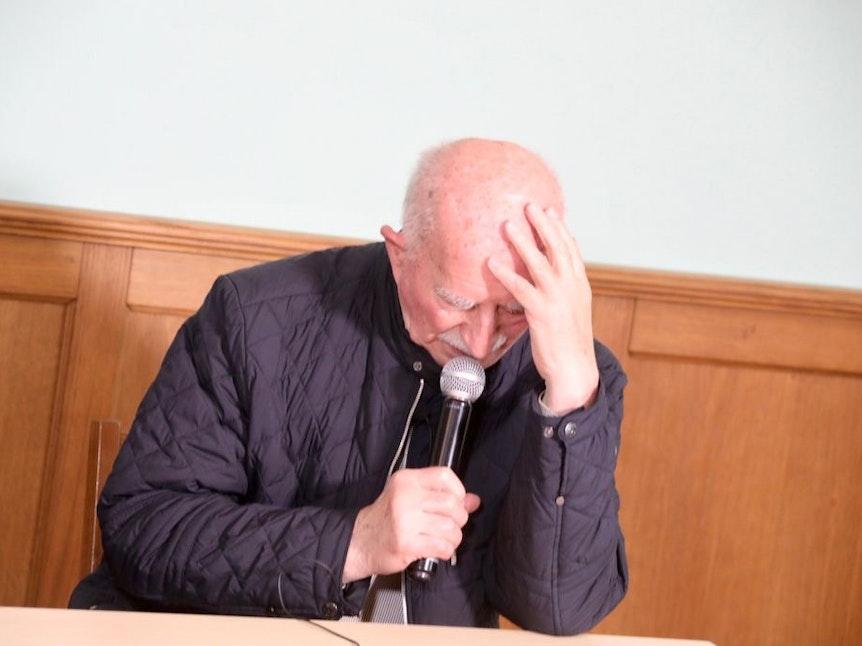 Werner Hansch brach bei Loss mer Schwade in Tränen aus.