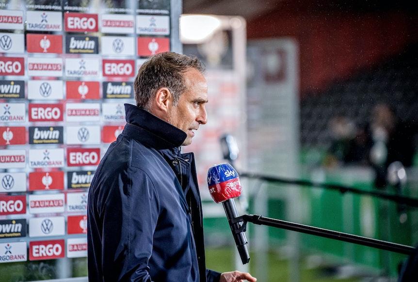 RB Leipzigs Geschäftsführer Oliver Mintzlaff stärkt Coach Jesse Marsch den Rücken.