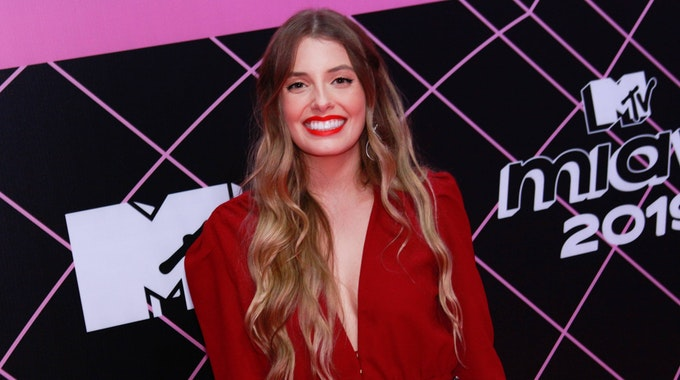 Paola Antonini posiert bei der Verleihung der MTV Millennial Awards