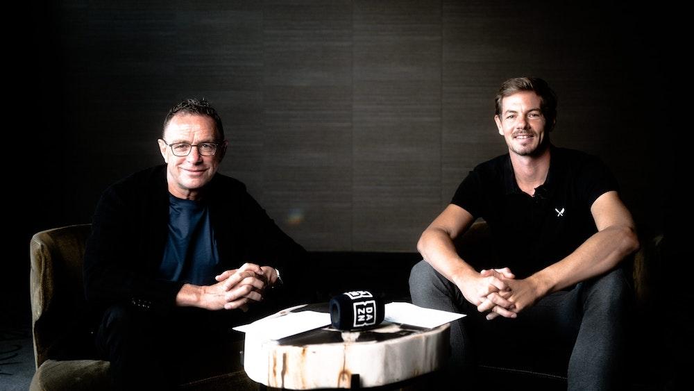Ralf Rangnick und Alex Schlüter arbeiten nun beide für DAZN