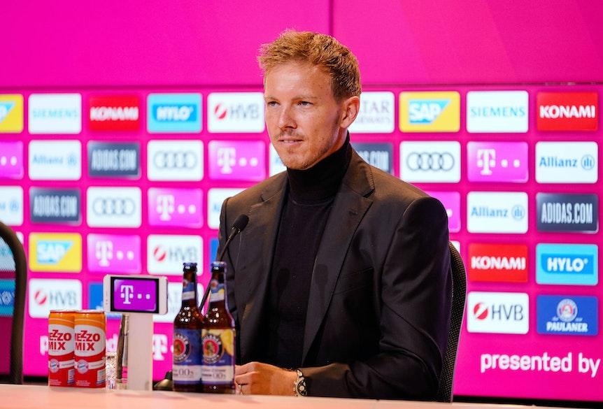 Julian Nagelsmann hat sich zu den Spielerwechseln geäußert.