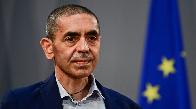 Biontech-Gründer Ugur Sahin in Berlin