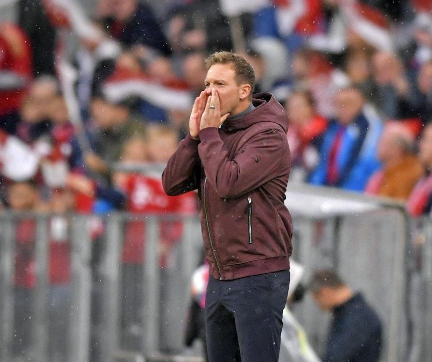 Julian Nagelsmann fordert Frische im Kopf bei Bayern gegen RB Leipzig.