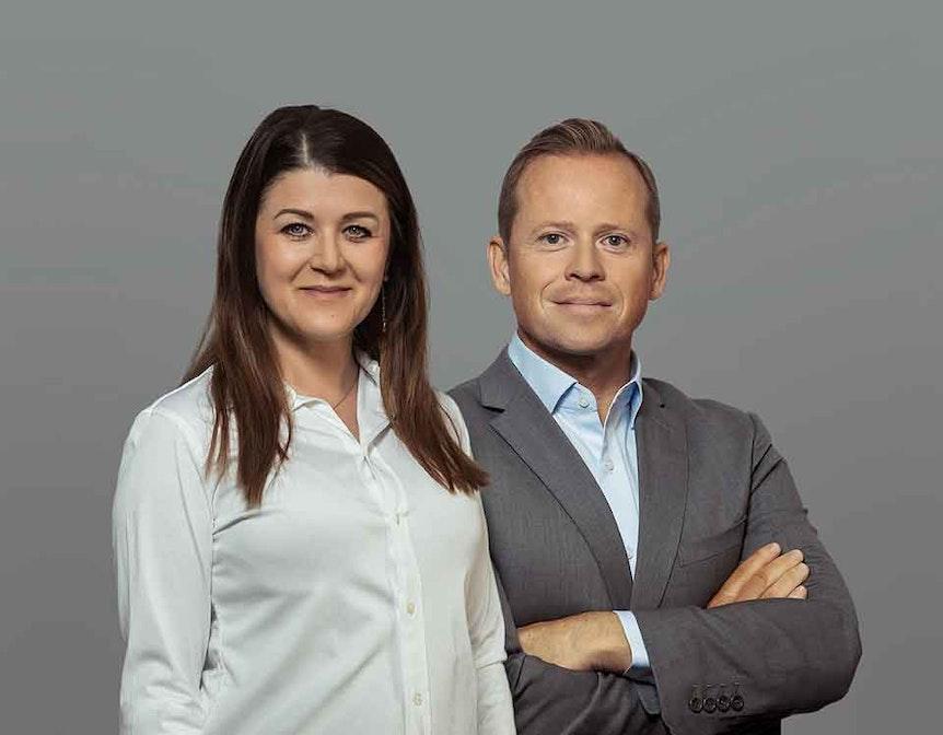 Beata Rieder und Marin Witkowski