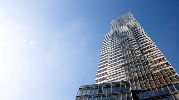 Ansicht des Kölnturm am Mediapark in Köln