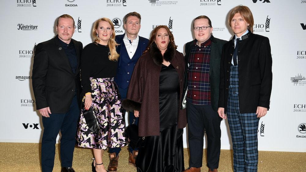 Die Kelly Family 2018 bei der 27. Verleihung des Deutschen Musikpreises Echo. Jetzt bekommt die Kultfamilie eine eigene Doku-Soap.