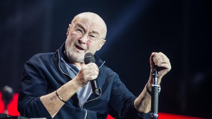 Phil Collins, hier 2019 in der Mercedes-Benz Arena in Stuttgart, spricht nun über seinen Gesundheitszustand.